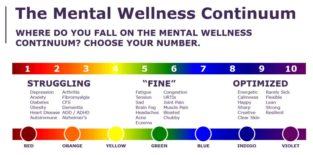 Mental Wellness Continuum - Jess Janda